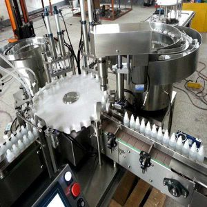 10ml, 30ml Vial Filling Machine For E Liquid, E Juice, Bottle Filling Line