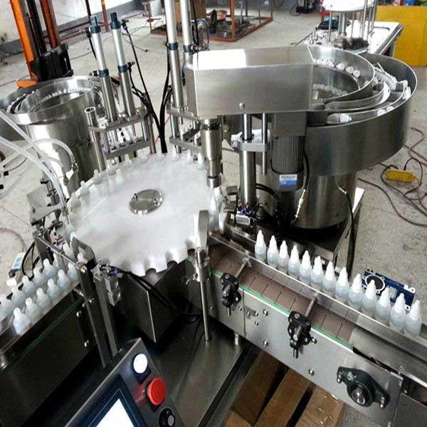 10ml, 30ml Vial Filling Machine For E Liquid, E Juice, Bottle Filling Line