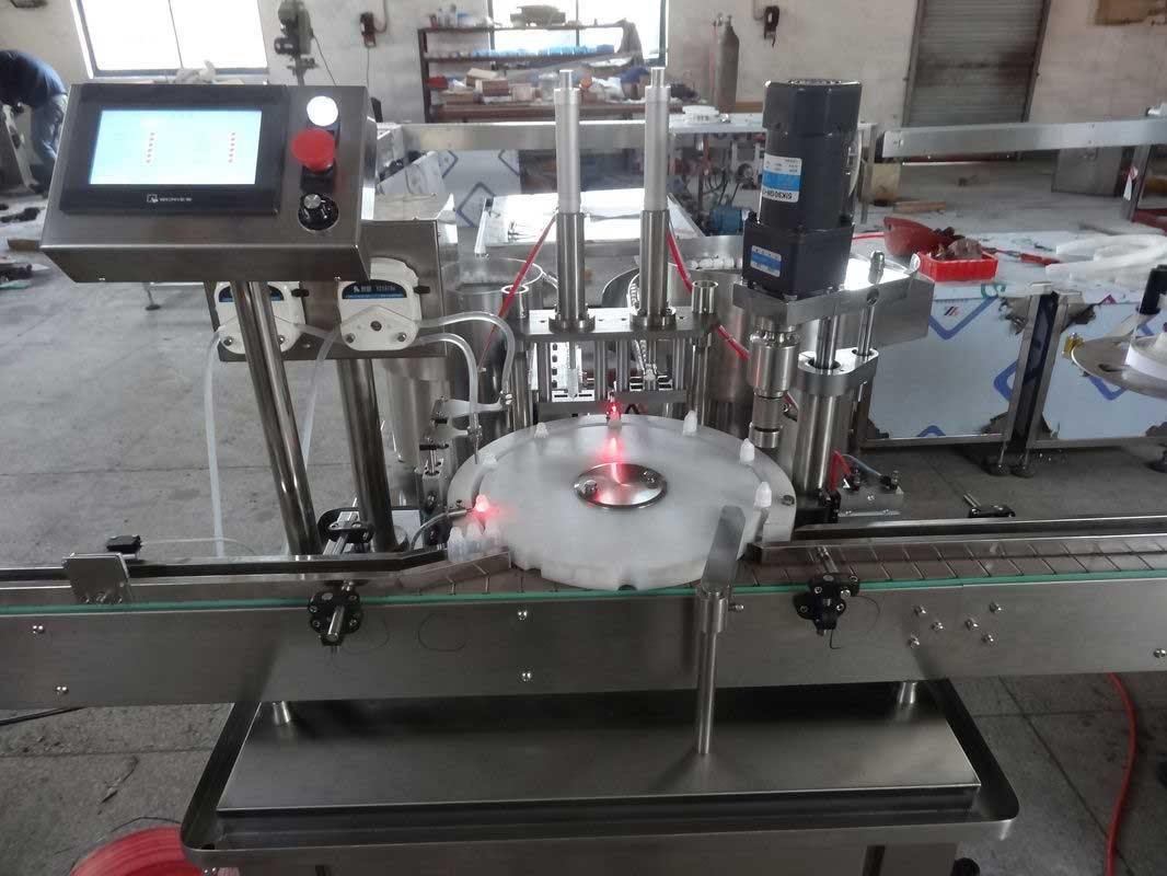 E-Liquid Filling Machine, Essential Oil Filler, Nail Polish Filling Line