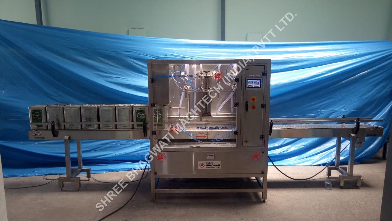 Edible Oil Filling Machine Manufacturer