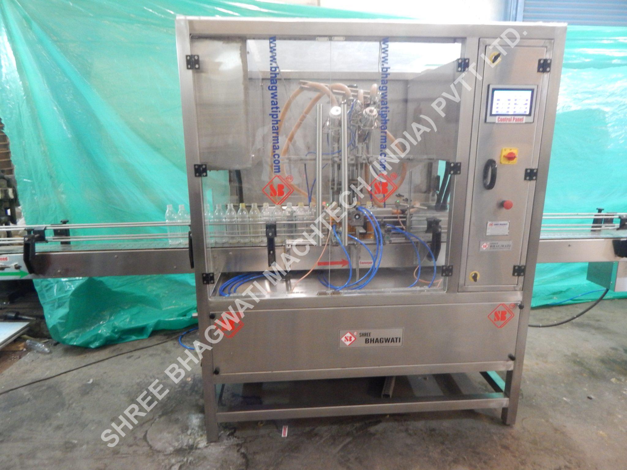 Juice Tin Filling Machine