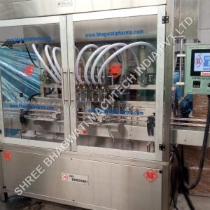 Pneumatic Plastic Bottle Piston Filling Machine