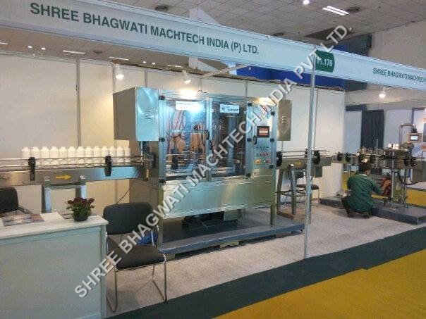 Volumetric Servo Based Viscous & Filler Machine Semi Visocus Product Bottle Filling Machinery