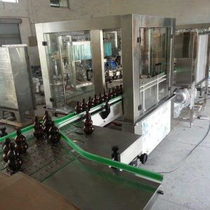 Anti Explosion Wine Beer Bottle Filling Machine, Commercial Bottling Equipment