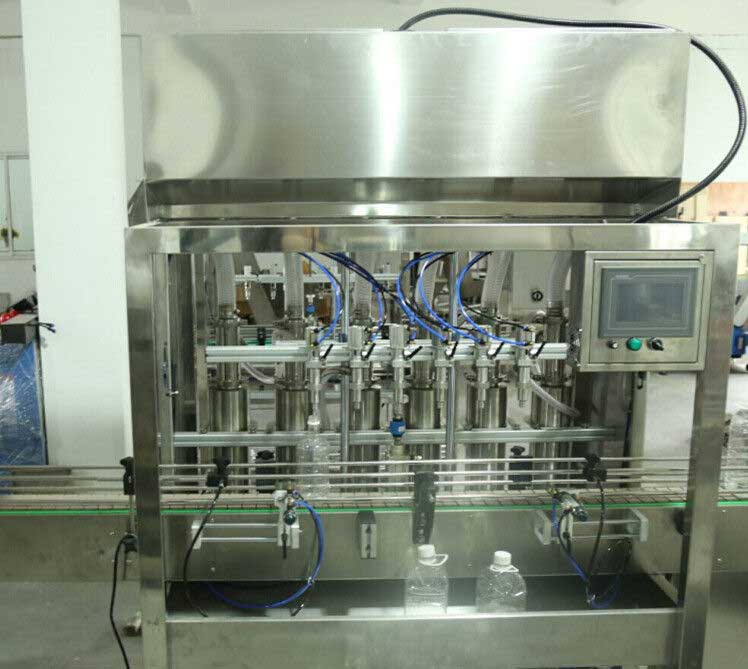 Auto Cooking Oil Filling Machine