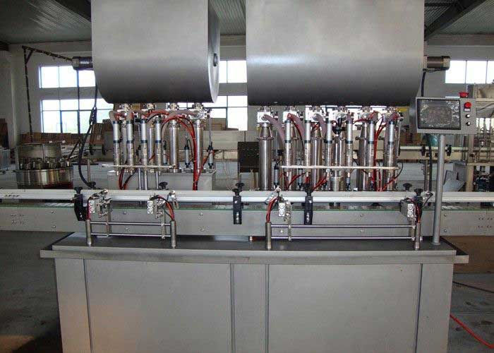 Automated Piston Filling Machines And Equipment, Bottle Filling Plant for Meat Paste
