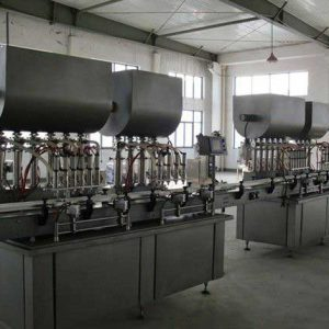 Peanut Butter Pump Filling Machine, Automatic Bottle Filler Machines