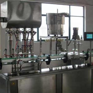 High Viscous Filling With Capping Machine