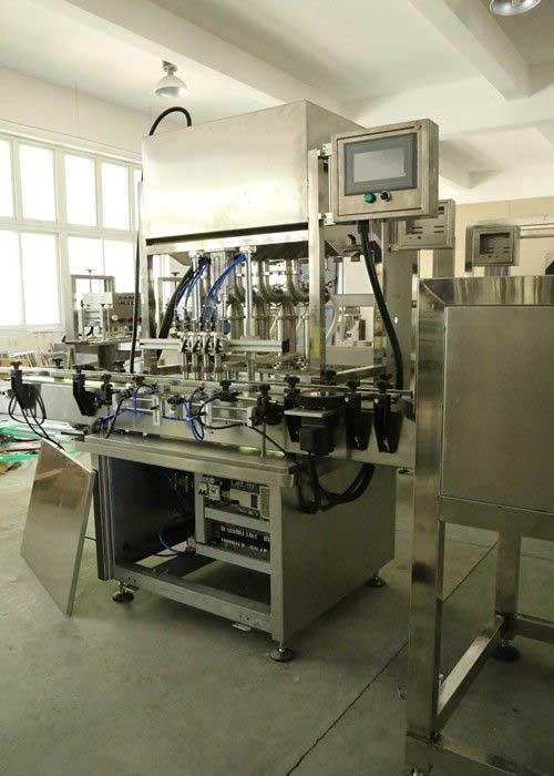 Customized Auto Paste, Shampoo Filling Machine Bottle Filling Machinery