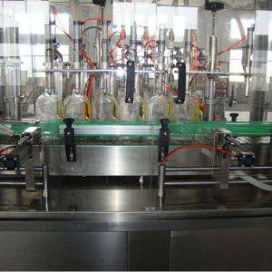Flat Bottle Liquid Filling Machine for Cooking Oil & Mineral Water