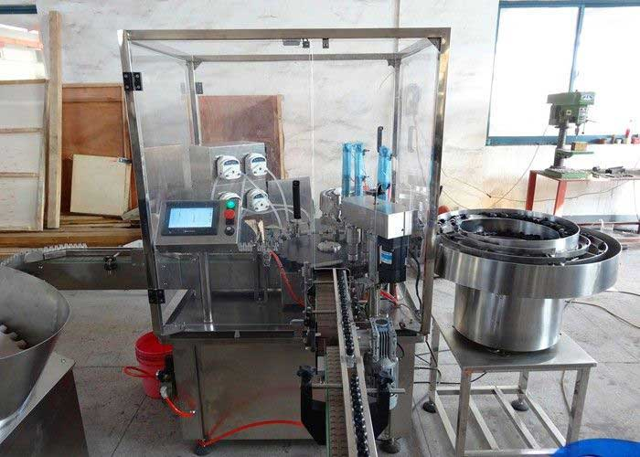 Cosmetics Filling Machine, Mascara Filling Machine, Eyeliner Filling Capping Machine
