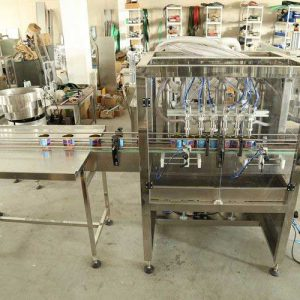 High Speed Beverage Liquid Filling Equipment, Plastic Bottle Filler Machine