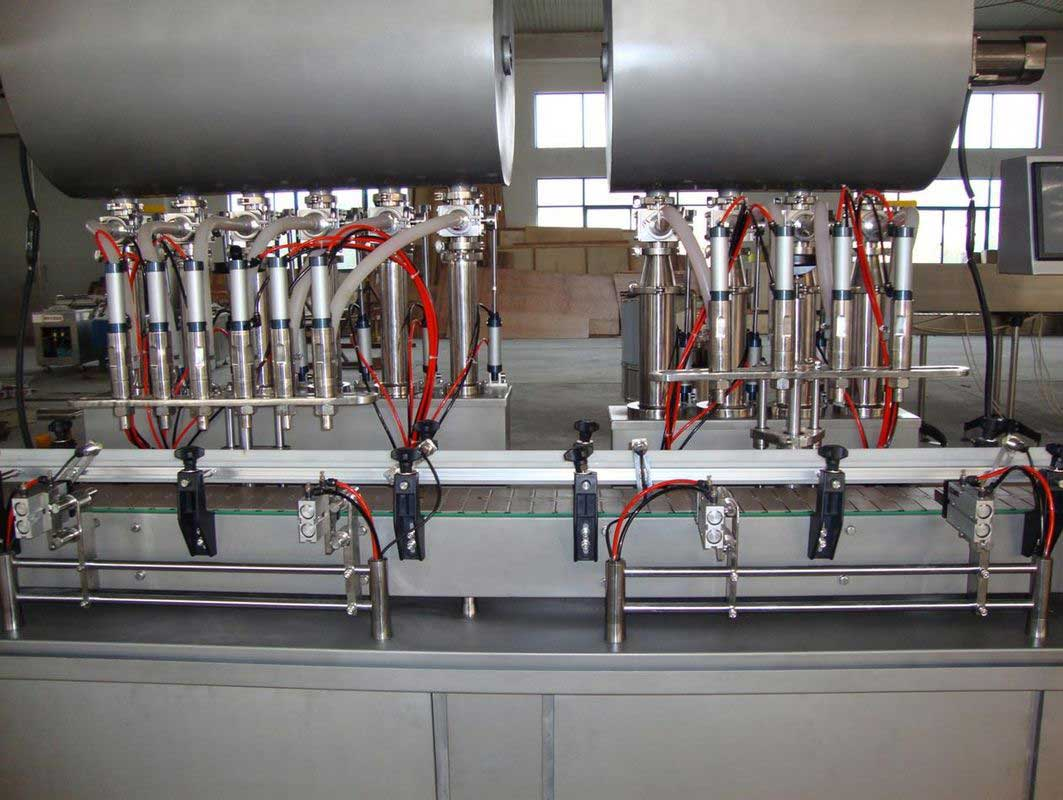 Pneaumatic Driven Piston Hot Filling Machine
