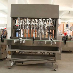 Viscous Piston Filling Machine for Water, Gel, Shampoo, Olive Oil Filling Machine, Motor Oil Filler Machine