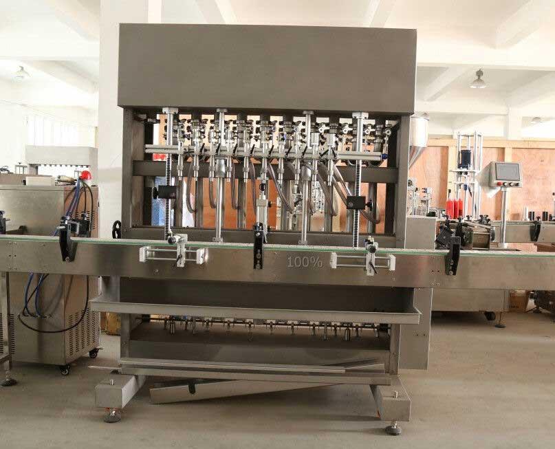 Viscous Piston Filling Machine for Water, Gel, Shampoo, Olive Oil Filling Machine, Motor Oil Filler Machine