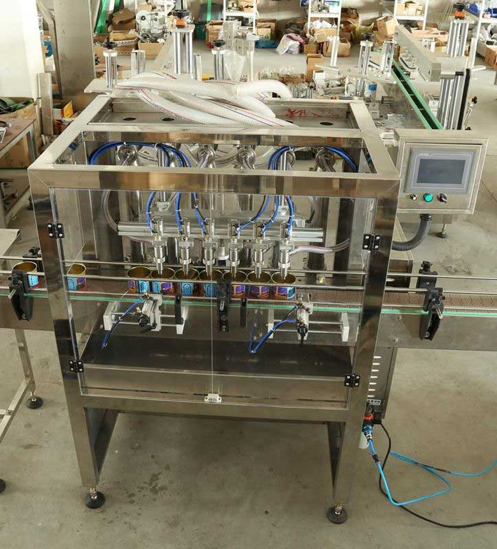 Soy Milk, Butter Milk, Mouthwash Liquid Filling Machine, Cooking Oil Filler