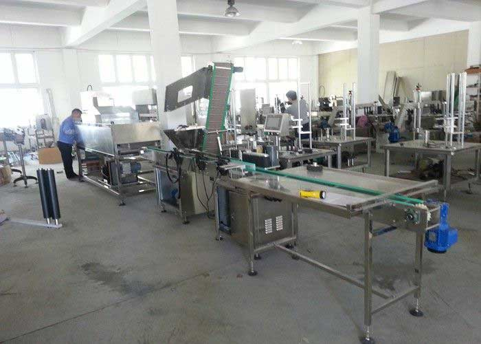 Linear Filling Machine For Petroleum, Jelly, Jam, Syrup, White Spirits Filling Line