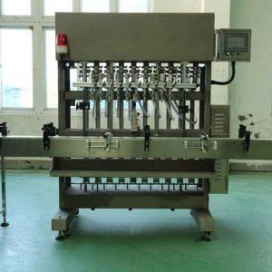 Automatic Linear Filling Machine - Viscous Liquid, Honey, Butter, Shampoo