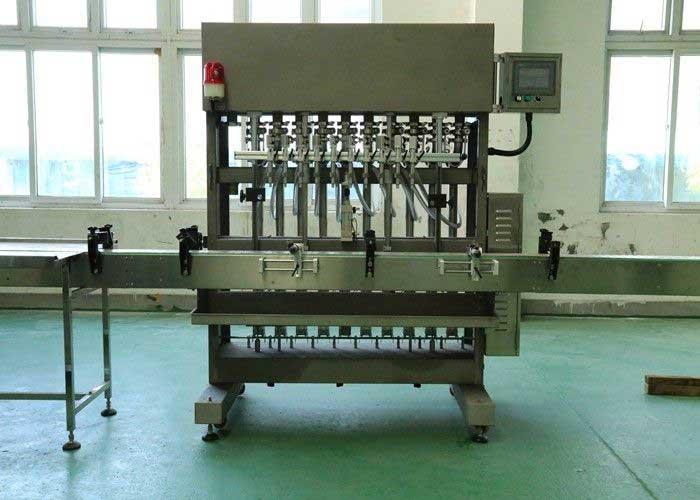 Automatic Linear Filling Machine - Viscous Liquid, Honey, Butter, Shampoo
