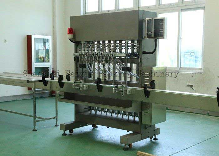 Piston Filler - Bottle Piston Filling Machine