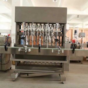 Volumetric Servo Based Viscous & Filler Machine Semi Visocus Product Bottle Filling Machinery