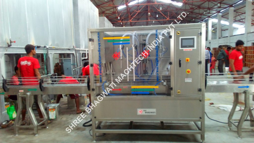 Auto Cooking Oil Filling Machine 2