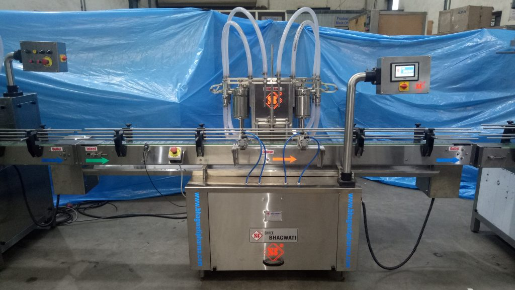 Glass Bottling Machine 3