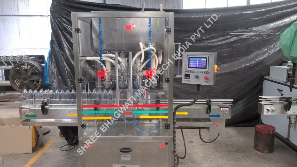 Viscous Piston Filling Machine