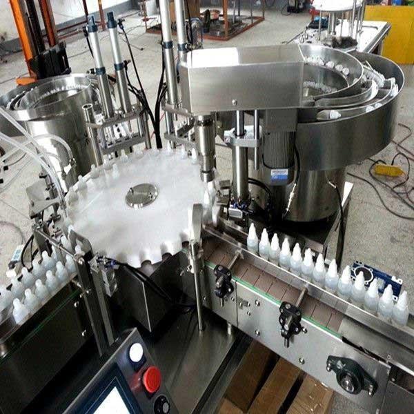 Small Bottle Filling Machine