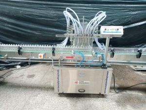 8 nozzle filling machine
