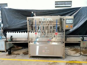 servo pump filling machine