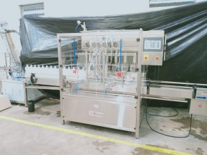 Servo Pump Filling Machine - Servo Pump Fillers